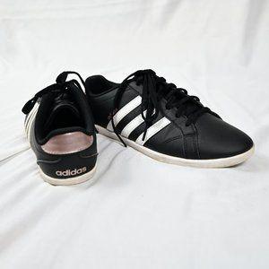 Adidas Women Shoes Black White Rosegold US 6 1/2